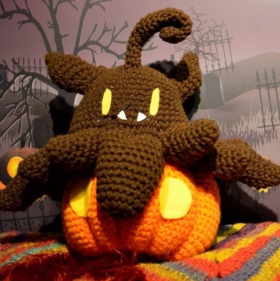 Pokemon Pumpkaboo Amigurumi Crochet PATTERN by WordsofWisdomNH