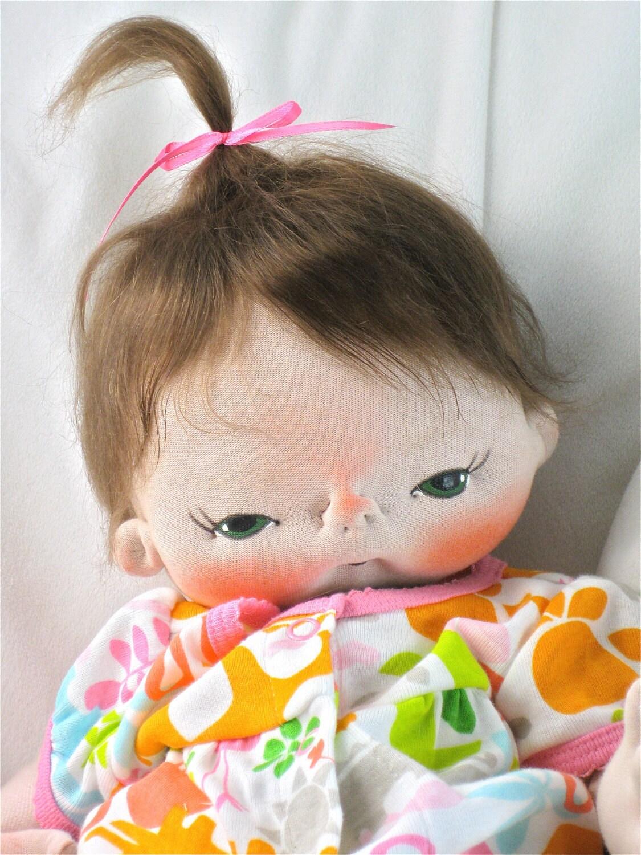 Jennifer essa de uma boneca de pano por Tipo BEBÊS BEBE