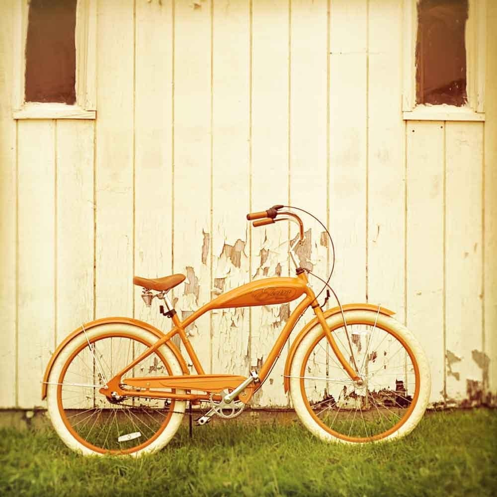 40x40 Overstock Sale - Orange Ride - Fine Art Photography - Only one at this price
