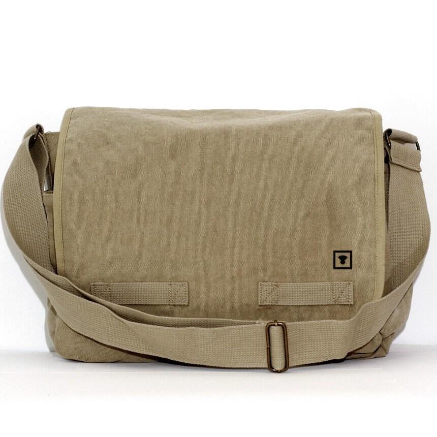 Messenger Bag: Medium Control Icon - Large Bag for Men & Women - mediumcontrol