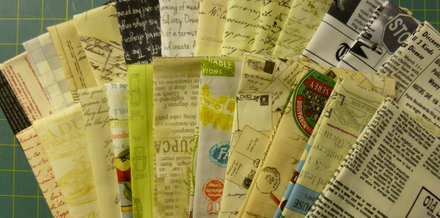 It's Just  a Bunch of Words- Fat Quarter Bundle