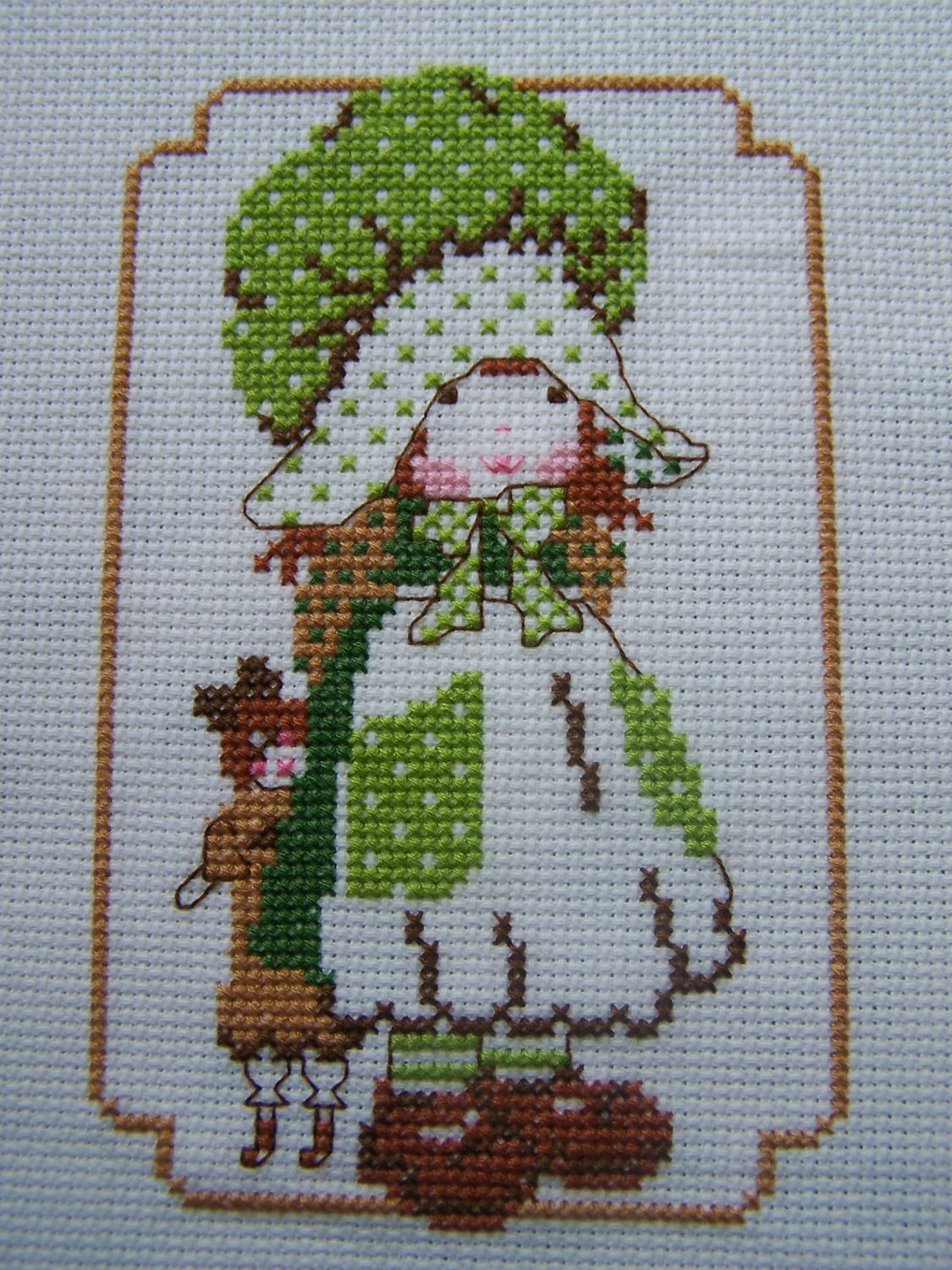Completed Cross Stitch-Lucy-Holly Hobbie Type