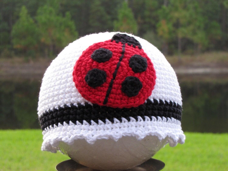 Cute Ladybug Beanie