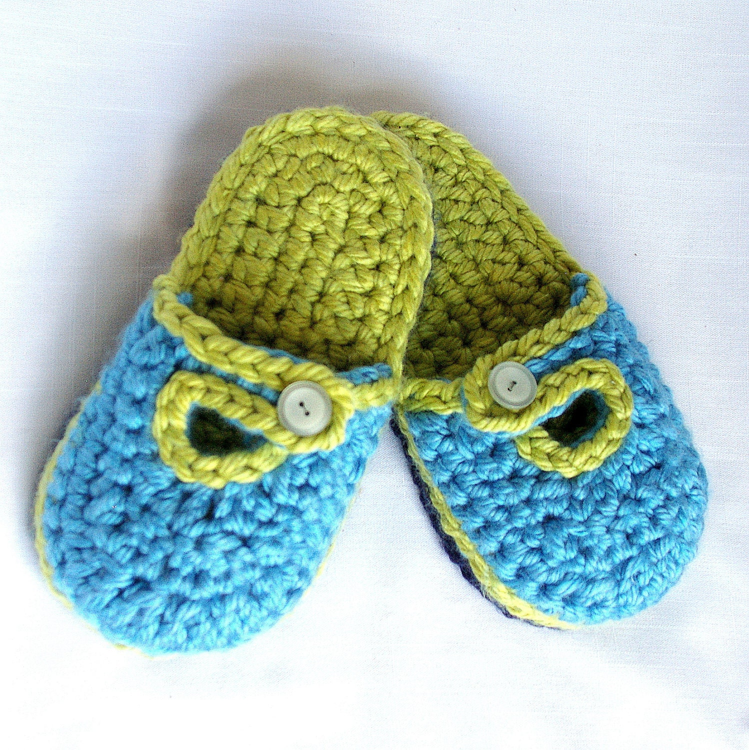 Crochet Version of Easy House Slippers Pattern @Craftzine.com blog