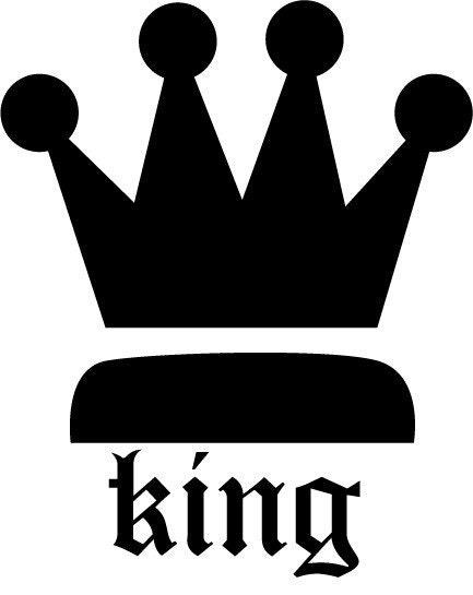 King crown wall decor