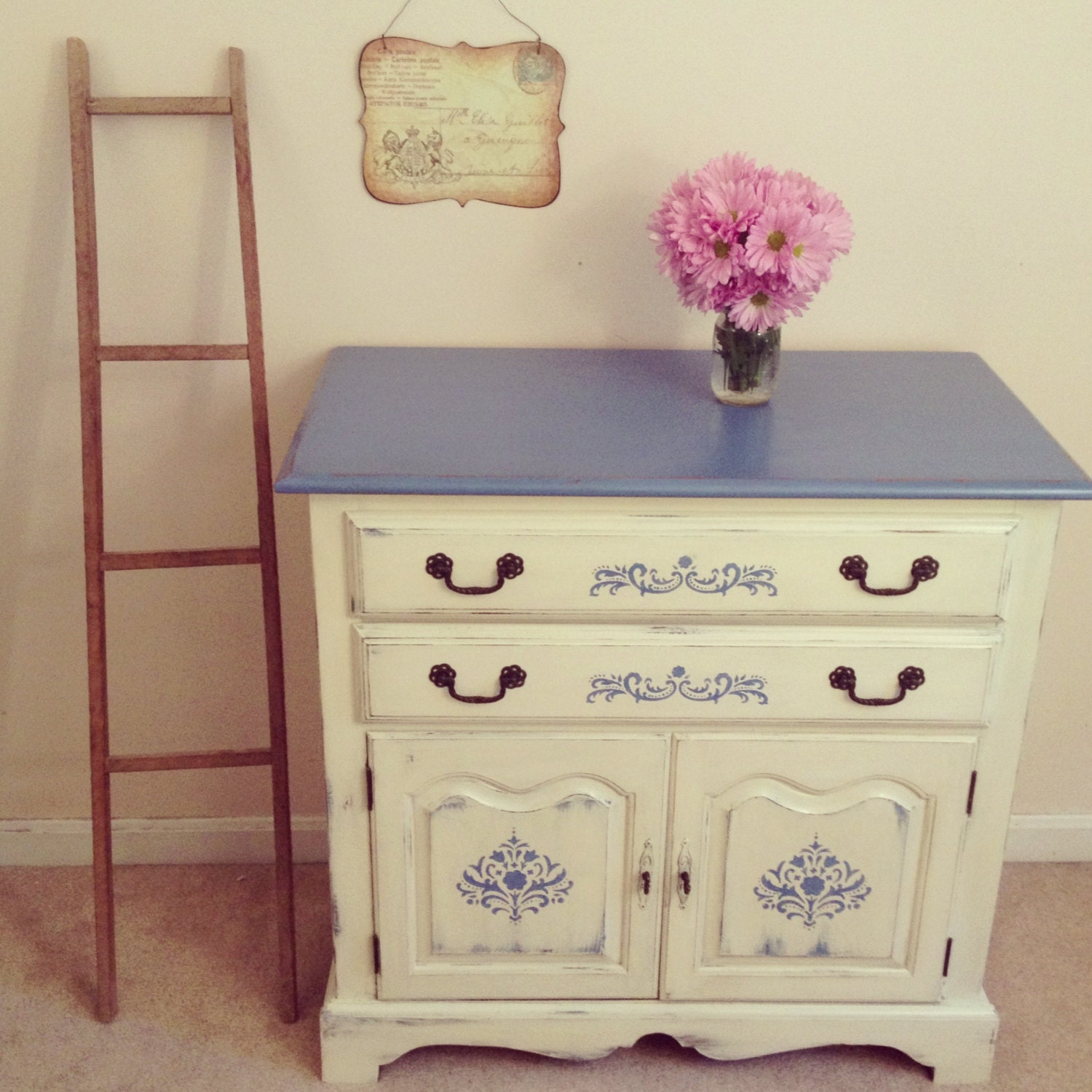 Items similar to Custom Designed French Country Chalk