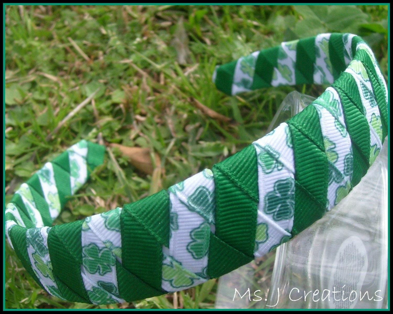 Clover Woven Headband