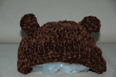 Brown Bear Hat - Adult