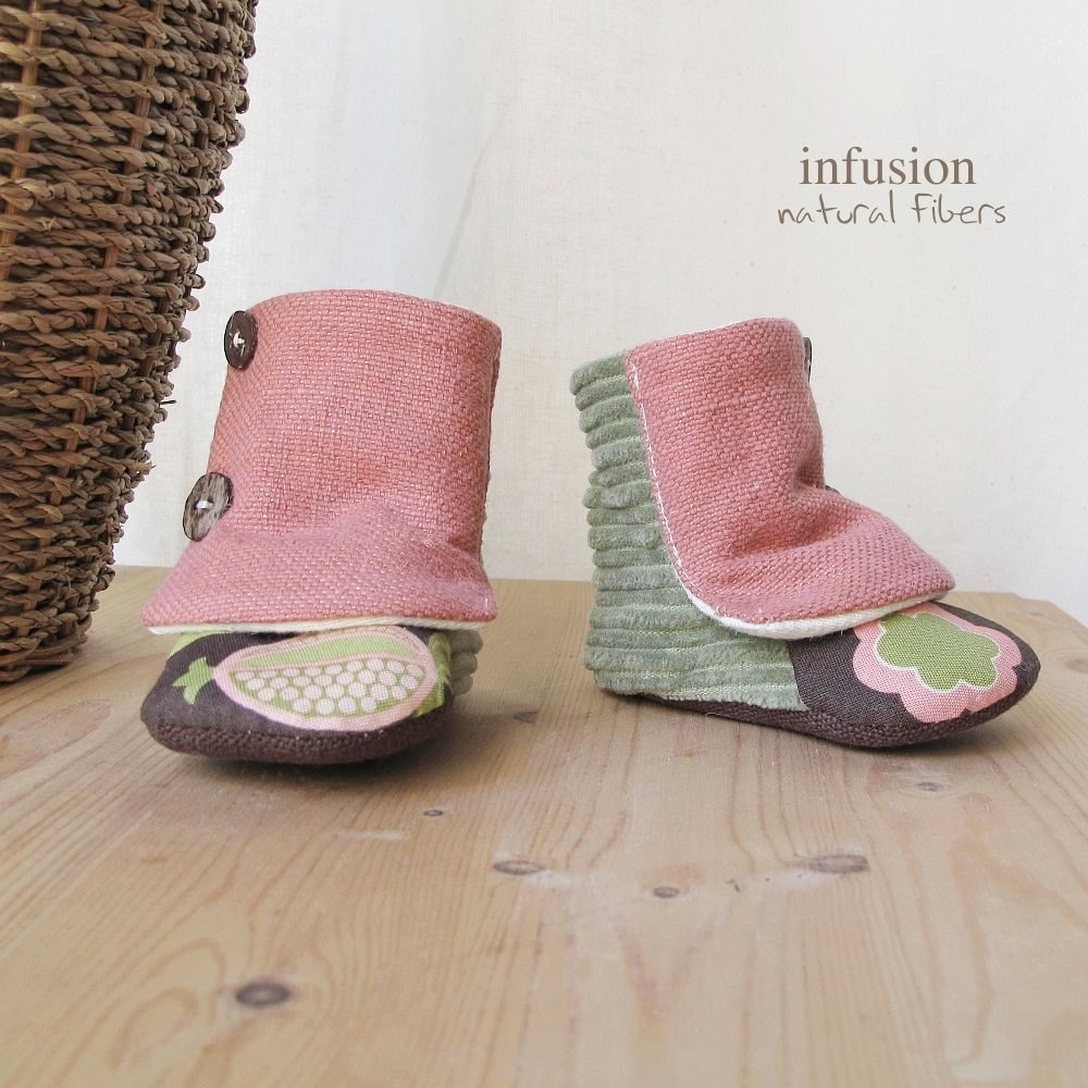 Organic Baby Boots Reserved