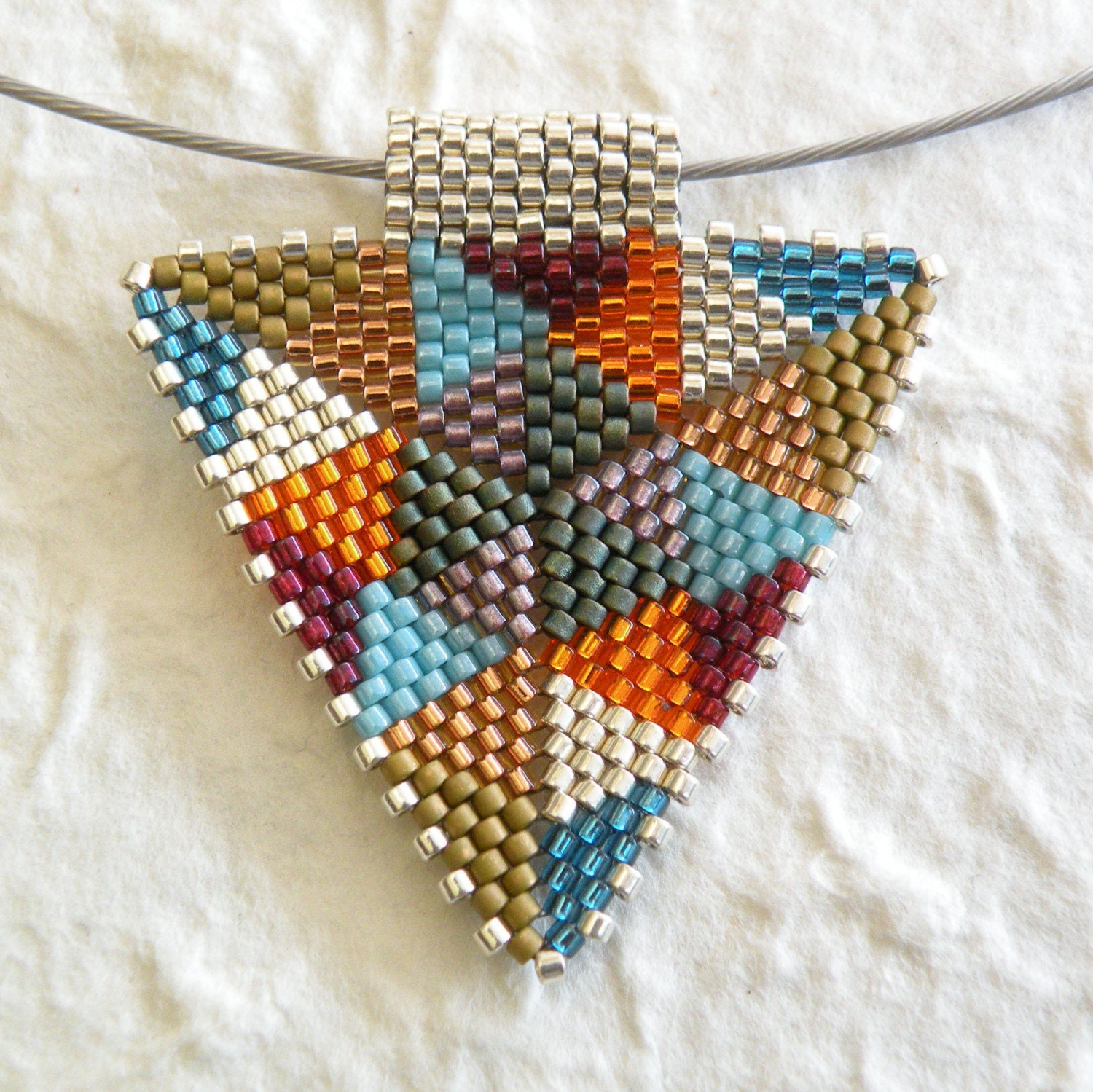 TriangleScape Pendants - Rainbows