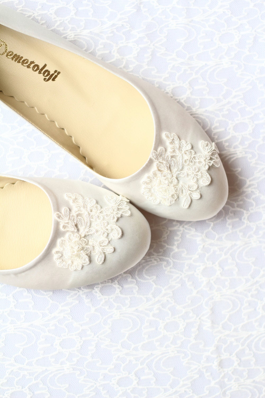 Ivory flats wedding