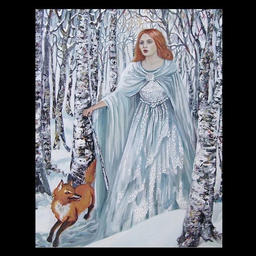 Birch Witch - 8x10 Print