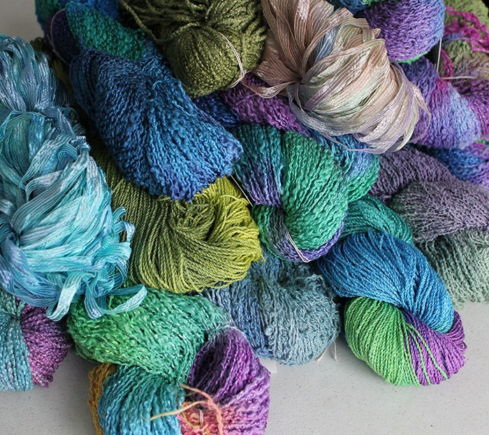 Hand dyed Yarn Grab Bag - 40% Off Sale