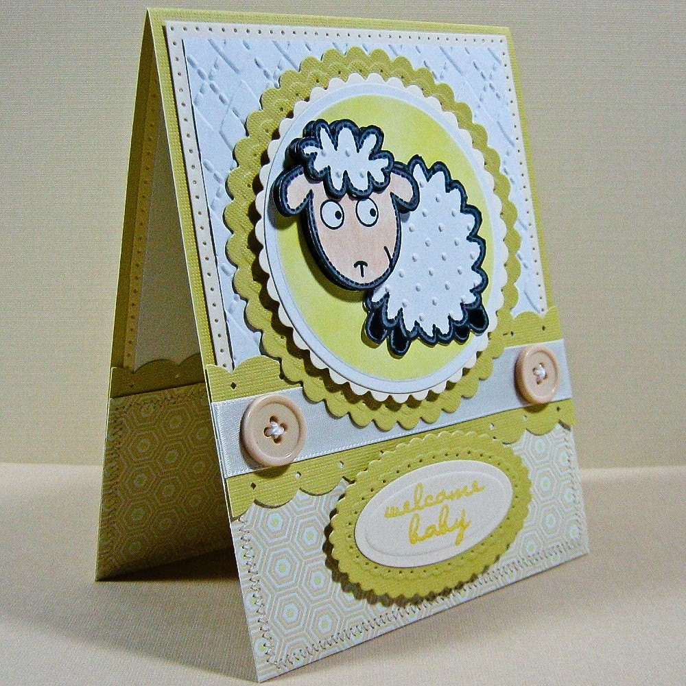 Handmade Card -Welcome Baby