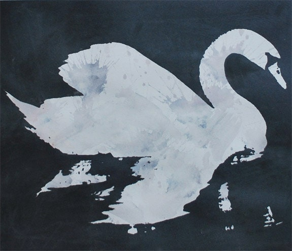Swan - Metallic Grey
