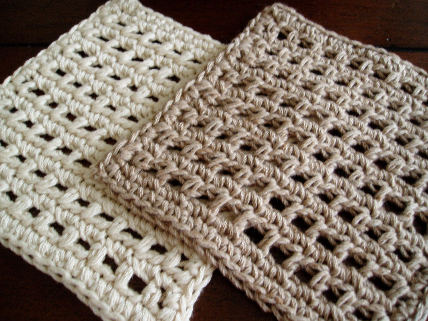 Easy Dishcloths to Crochet: Three Free Crochet Patterns for Simple