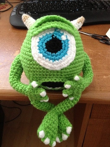 Amigurumi Monsters Inc : Unavailable Listing on Etsy