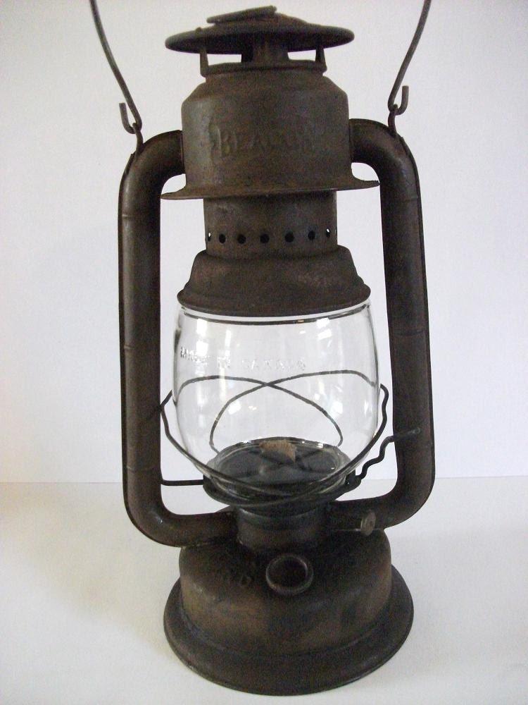 Vintage Lantern Beacon Wind Proof Lantern Oil By Ricsrelics