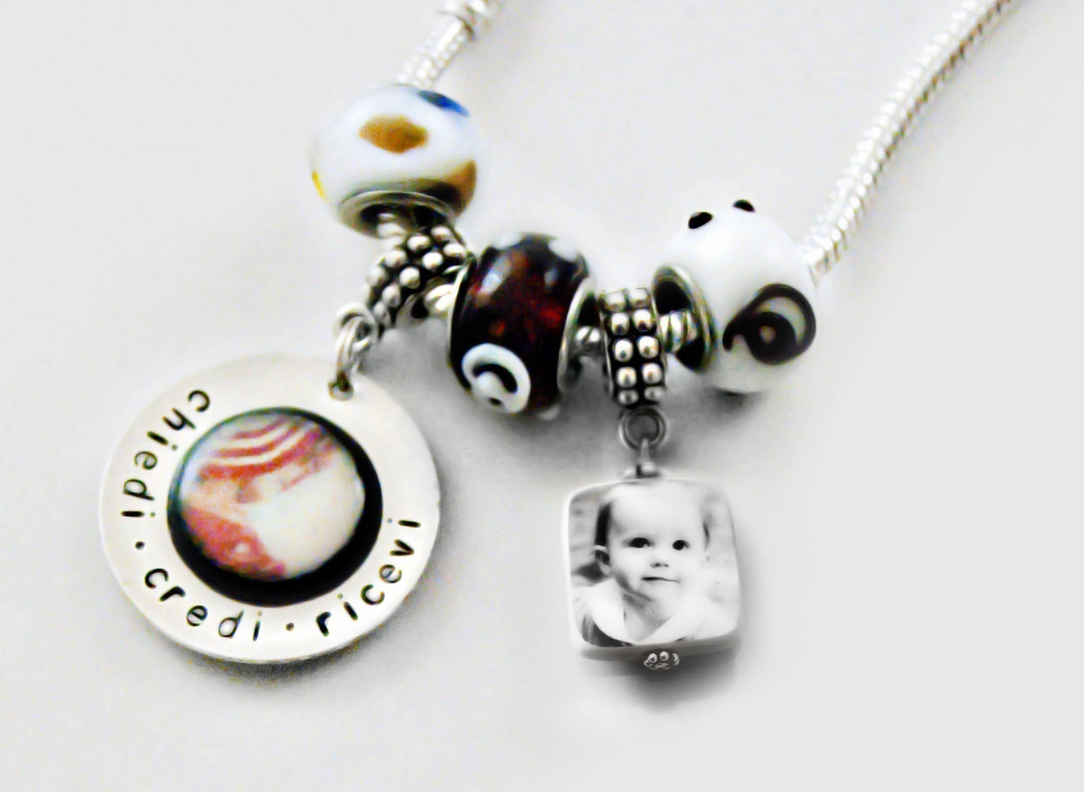 Peahead Pandora Style  Charm/pendant