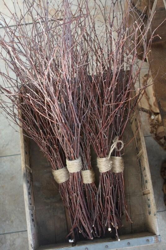 Birch Branch Centerpieces