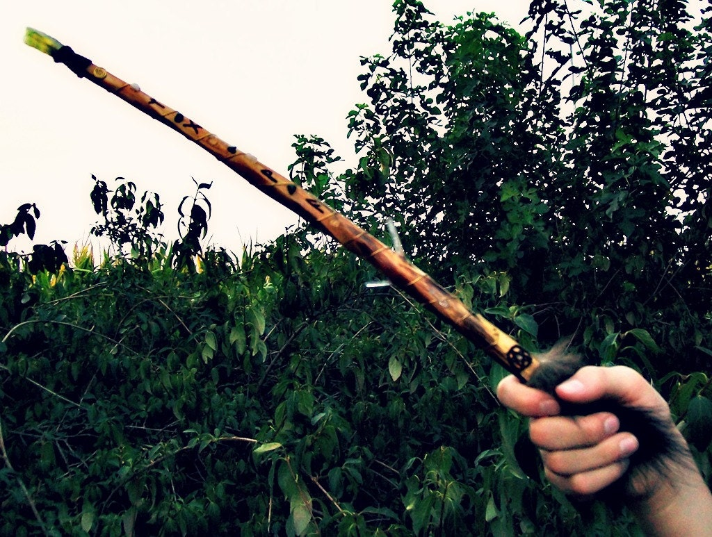 Rustic Ash Wand of Manifestation