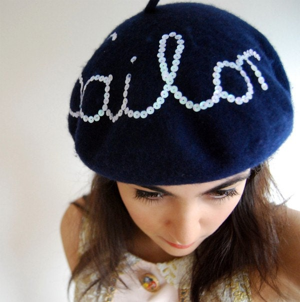 ahoy sailor: beret.