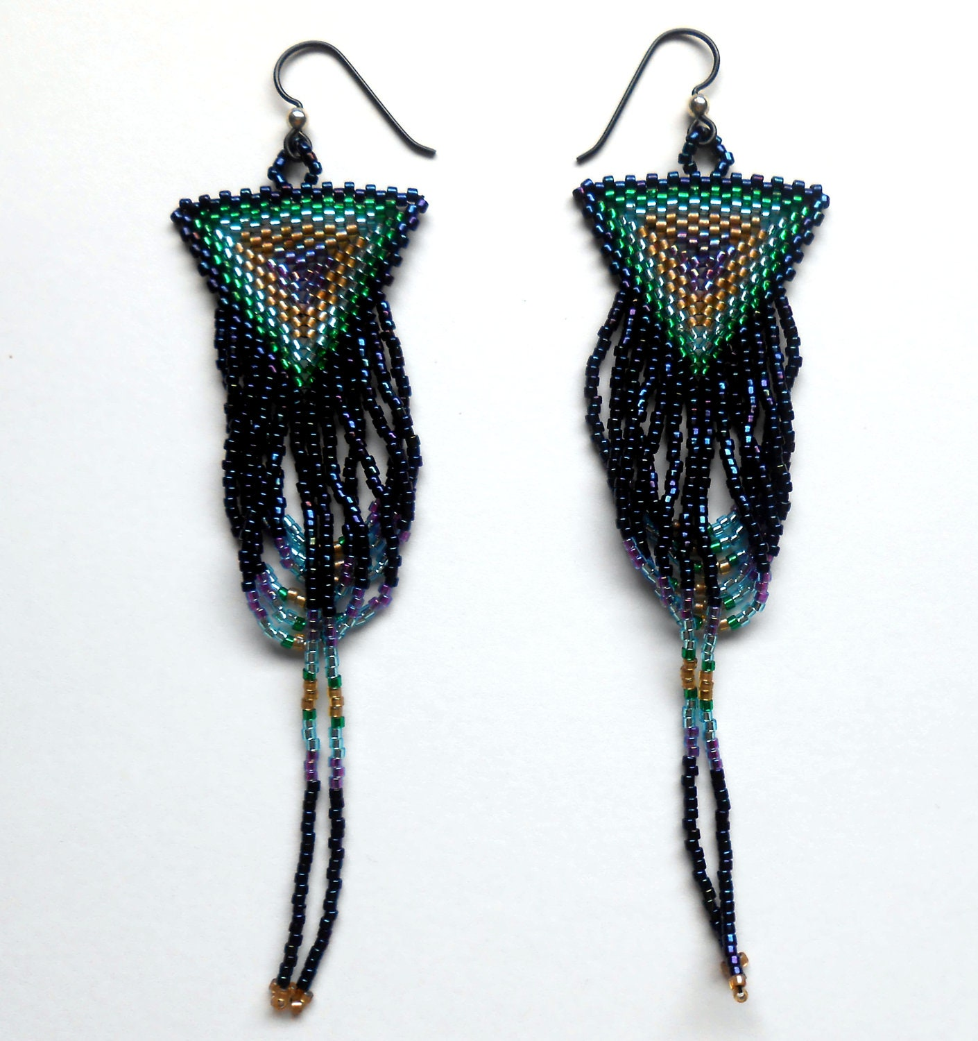 Under the Moonlight Beaded Earrings