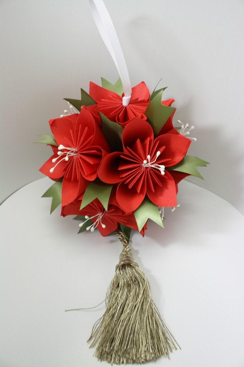 DIY origami Kusudama Flower Ball - PDF