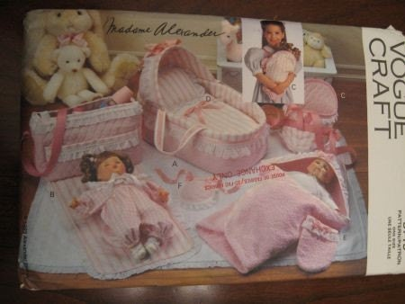 Doll Clothes sewing patterns for 36cm baby dolls.