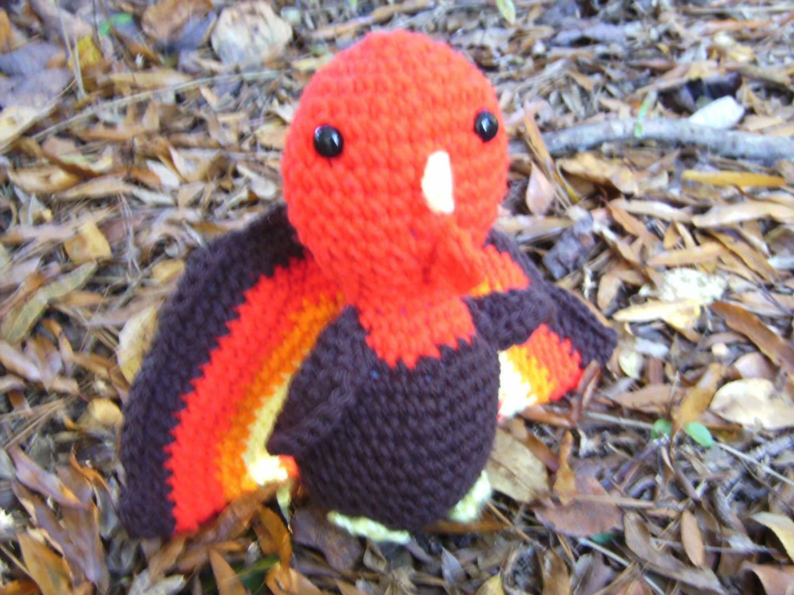 Gobble Gobble-Amigurumi Crochet Thanksgiving Turkey by ALLthangsOLDbutNEW2u