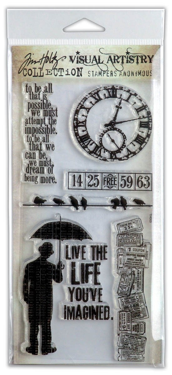 Tim Holtz stamp sets for sale! Il_570xN.198396595