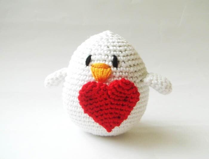 Уникальный день святого Валентина птиц