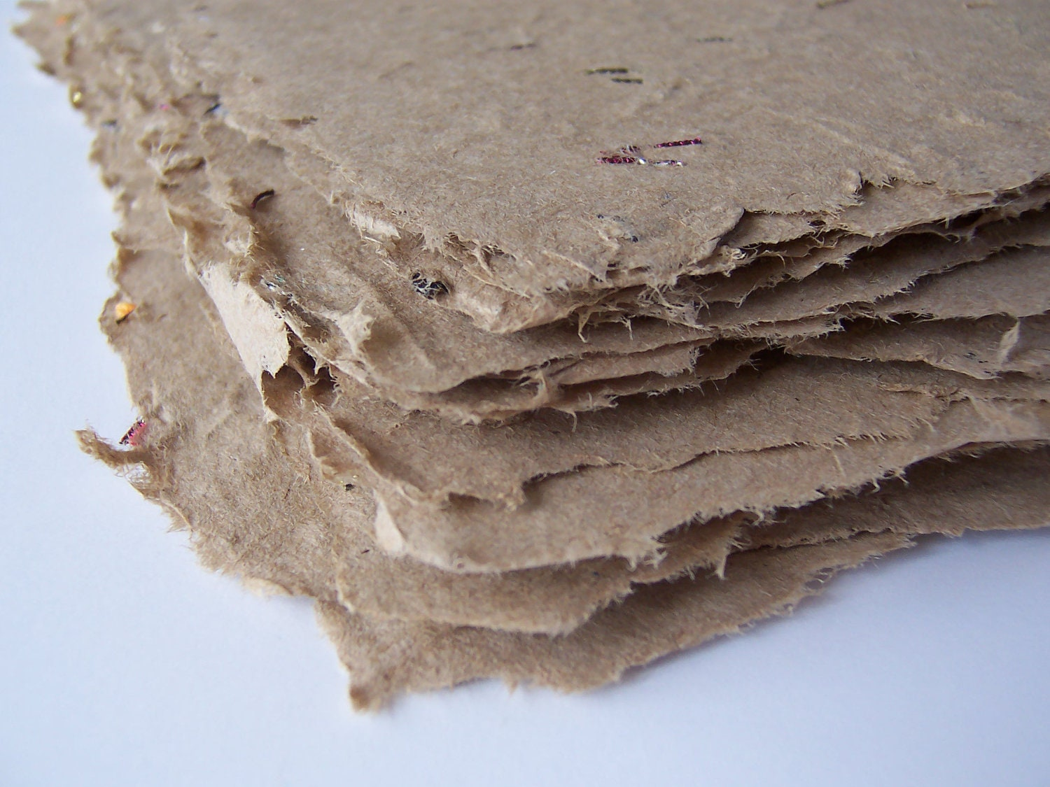 Limited Edition Handmade Paper - LAST ONE, Marilyn's Kraft, 4/package
