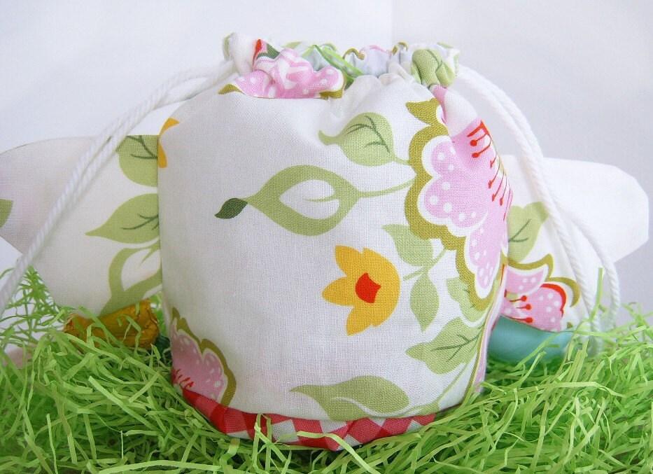FINISHED - Easter Chick Drawstring Bag