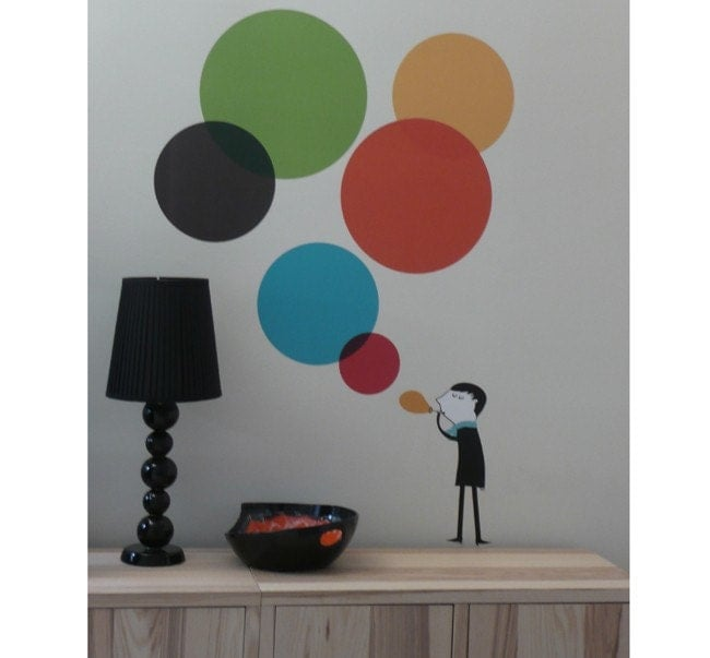 Monsieur IV wall sticker