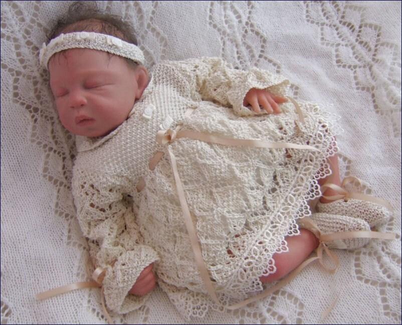 Вязание вещей на спицах для новорожденных 97