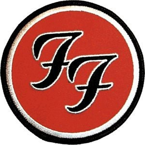 foo fighters ff logo music band embroidered iron on by