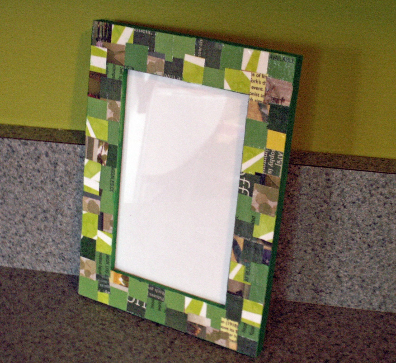 Зеленые бобы - 4x6 Photo Frame
