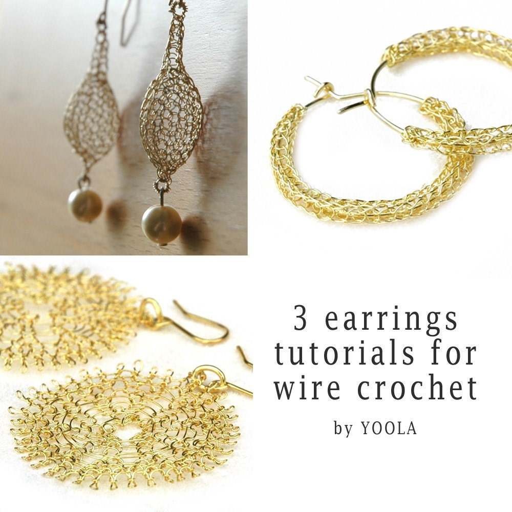 Crochet TearDrop Earring - Crochet Geek - Free Instructions and