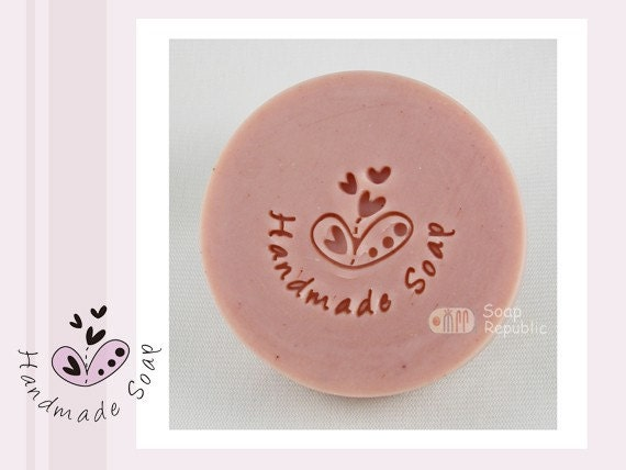 Happiness with Handmade Soap / Acrylic Soap Stamps ( Soap Republic )