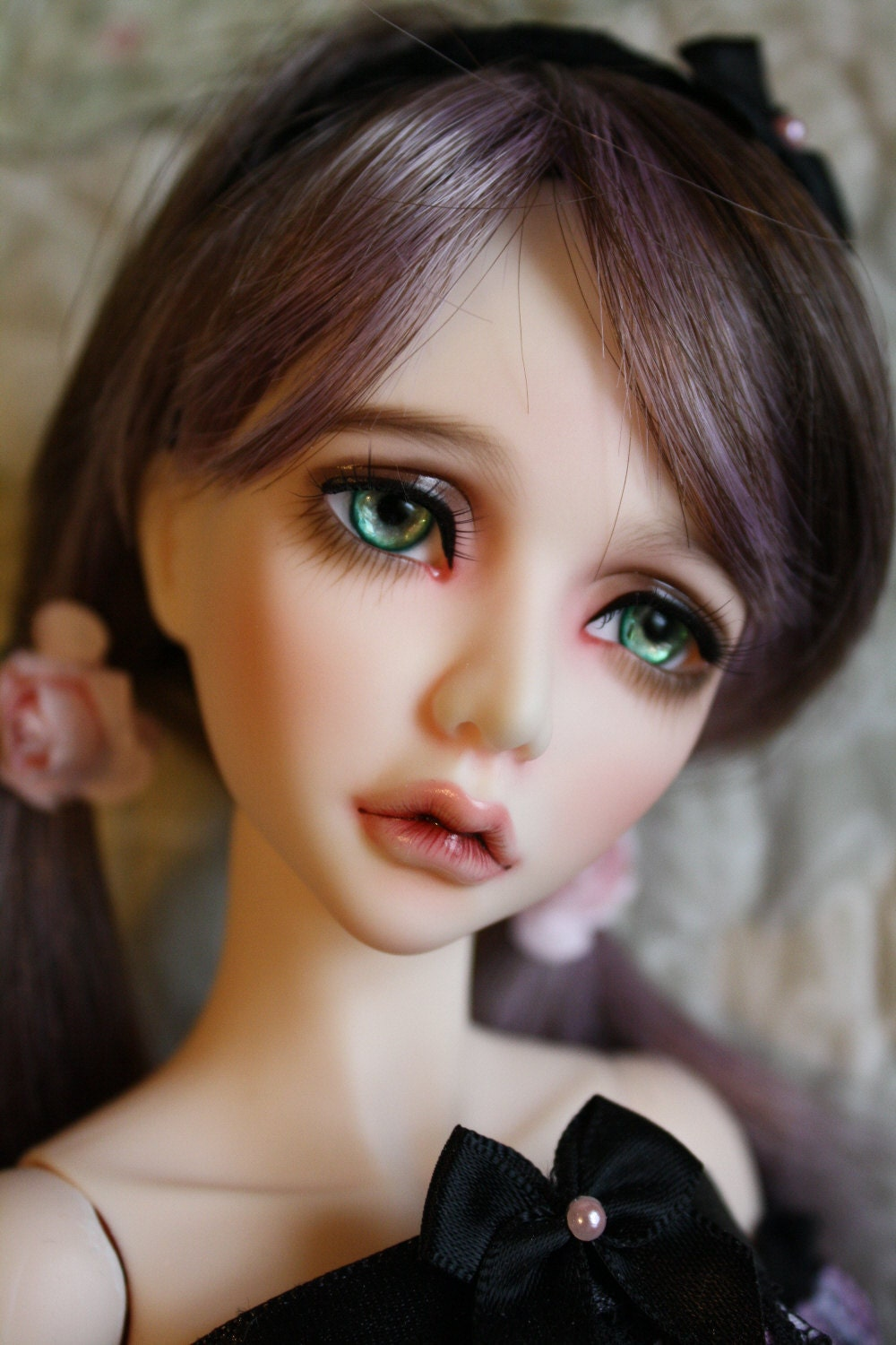BJD eyes Doll eyes Hand made available in 12141618202224mm Imperial Jade made to order