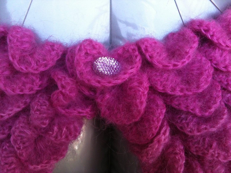 Crochet Crocodile Bolero Pattern PERMISSION SELL finish product