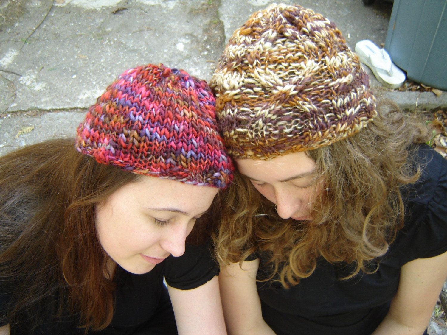 Mama's Wine Rack Cabled Cap