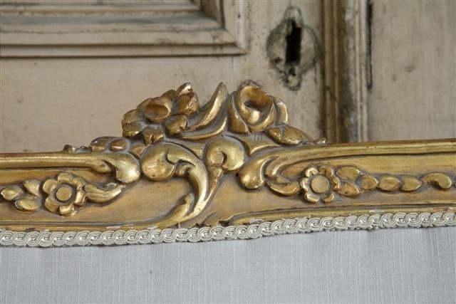 vintage gilt ROUGH LUXE sofa