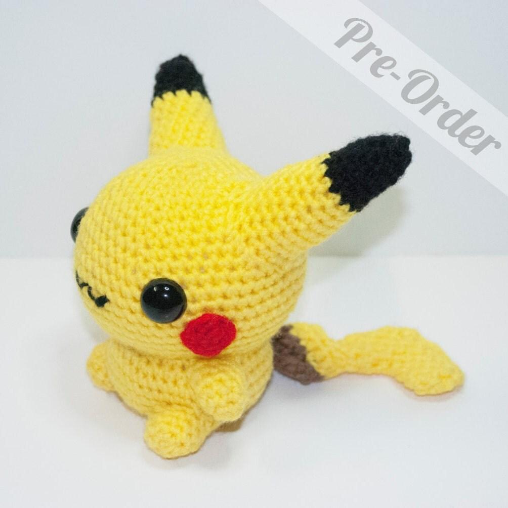 Chibi Pikachu Amigurumi : Amigurumi - Girlscene Forum
