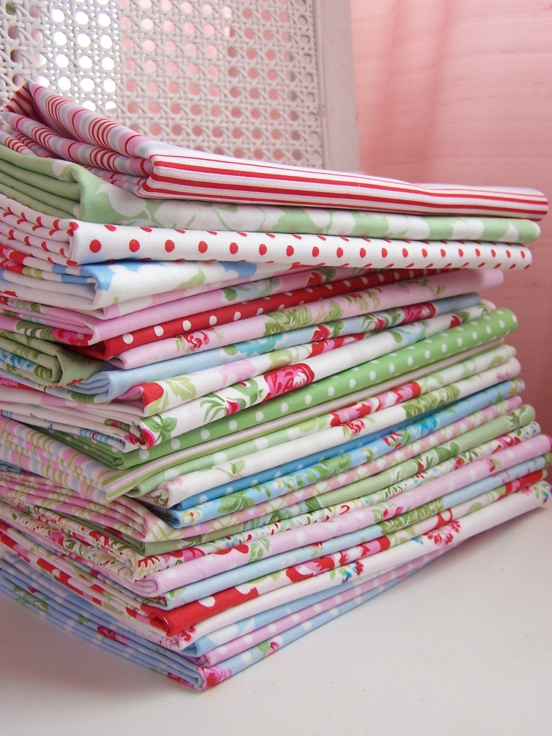 DELILAH by Tanya Whelan Big Fat Quarter Set, WHOLE COLLECTION