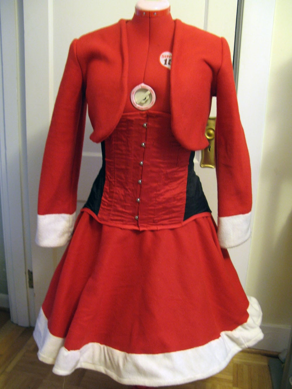 Santarchy - Mrs. Claus Costume