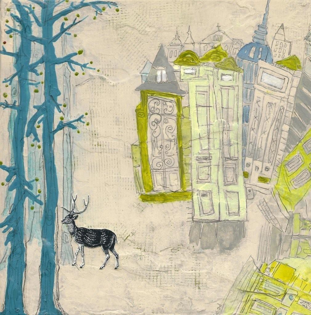 HARMONY Deer Art Print