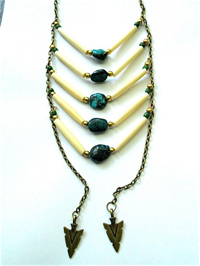 Kush Bone Waterfall Necklace