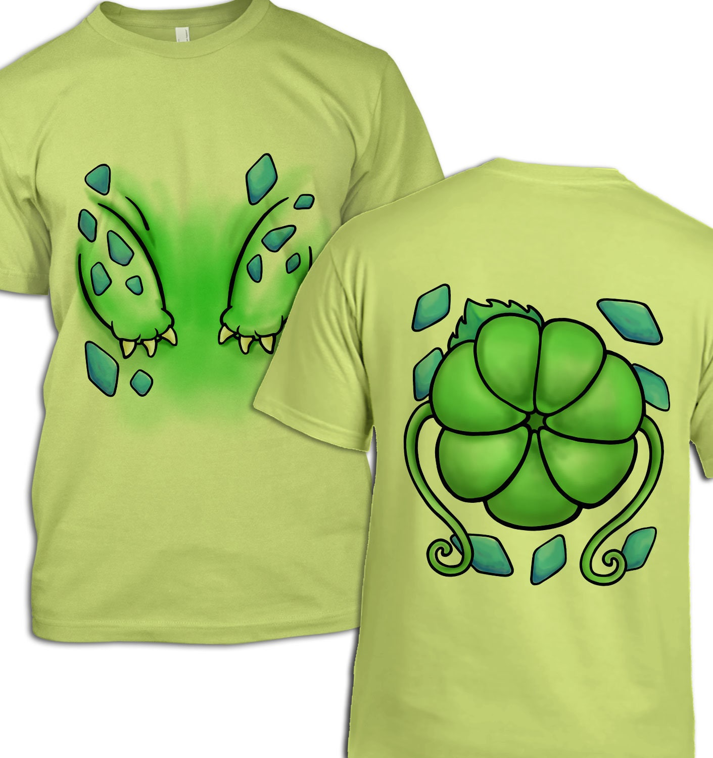 Plant Pocket Monster Costume tshirt